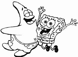 Spongebob Easter Coloring Pages Wumingme