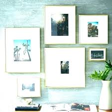 large silver picture frames wall square decorations coloured fram