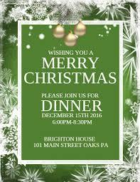 christmas dinner poster diy christmas dinner event flyer template event flyer christmas