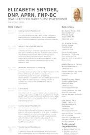 Curriculum Vitae For Nurses Fascinating Curriculum Vitae Examples For Nurse Practitioners Malawi Research