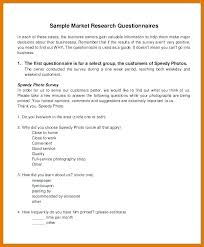 Template For Questionnaire Marketing Research Survey Examples Questionnaire Sample Pdf