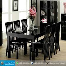 dining room furniture stores. Awesome Black Dining Room Set With High Back Teetotal Chairs Furniture Stores