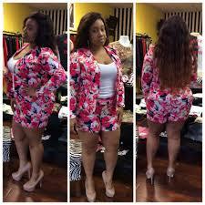plus size short sets plus size women 2 piece shorts set 2015 summer floral printed