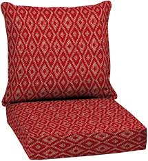 outdoor patio chair cushion high back red replacement deep seat furniture new