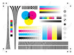 Calibration Printing Marks Royalty Free Cliparts Vectors And