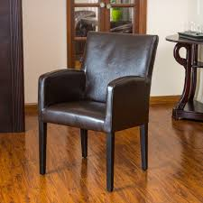 Dining Room Furniture  Dreaded Leather Dining Chairs With Arms - Dining room chairs with arms