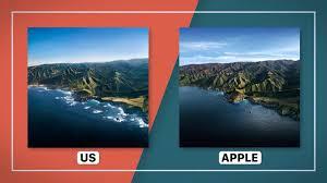 create macOS Big Sur's soaring wallpaper