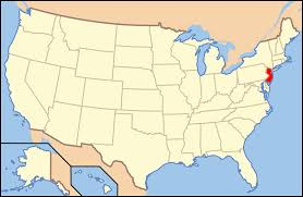 Image result for new jersey map