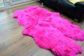 pink sheepskin rug pink sheepskin rug faux baby rugs blush pink sheepskin rug uk