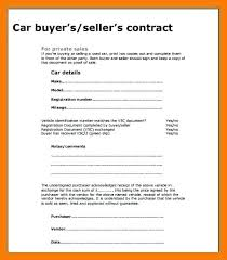 Motor Vehicle Sale Agreement Before Buying A Vehicle You Need To Sign With The Seller