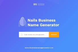 nails business name generator