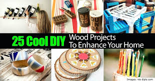 cool wood projects enhance your home diys to do with paper and markers 2