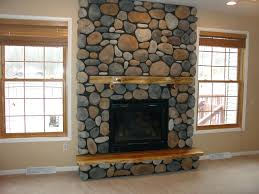 Faux Stone Fireplace Makeover Rustic Fireplaces Images Ark Cheat River.