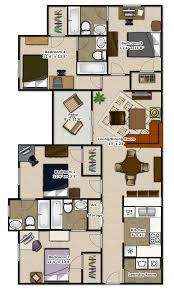 3 4 Bedroom Apartments