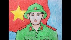 Vẽ tranh chú bộ đội - Vẽ chân dung chú bộ đội | Hướng dẫn vẽ tranh đẹp nhất  - Kênh nhạc ru ngủ, nhạc thư giãn lớn nhất Việt Nam