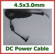 hp laptop charger part number h18549 74 input voltage 110 230 10pcs dc plug 4 5 3 0mm 4 5x3 0mm dc power supply cable
