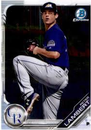 Amazon.com: 2019 MLB Bowman Chrome Prospects BCP-136 Peter Lambert Colorado  Rockies Official Baseball Card produced by Topps: Collectibles & Fine Art