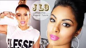 jennifer lopez i luh ya papi makeup tutorial full face makeup with contour highlight you