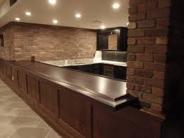 bar top lighting. walnut bar top for residential project lighting n
