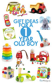 Toys for a 1 year old