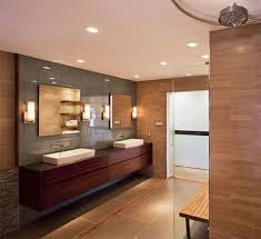 bathroom lighting design. the bathroom picture below shows even illumination and finishes stay true this is effect you would like to achieve with general lighting design