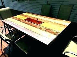 full size of outdoor table top ideas diy round cool patio glass replacement dining decorating magnificent