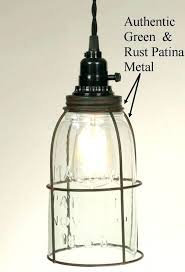 cage lamp shade nz primitive half gallon mason jar swag pro pendant