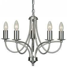 chrome chandelier hampton bay maria theresa  light chrome
