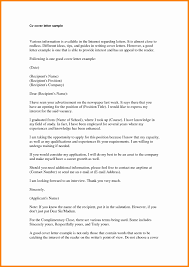 Resume Cover Letter Introduction Examples Cover Letter