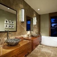 bathroom vanity mirror ideas modest classy: bathroom classy bathroom vanities design come with brown oak wooden varnish rectangle floating stone sinks