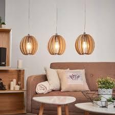 lighting hanging. Wooden Cossano Hanging Light - 3-bulb Lighting E
