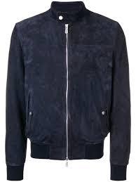 eleventy blue suede leather jacket 1 700