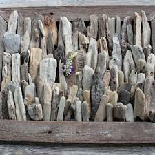 Driftwood Nuggets Lot of 95 Chubby Surf Tumbled Pieces Great for Crafts,  Home and Beach