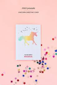 download birthday cards for free printable unicorn greeting card print me 1 cards free