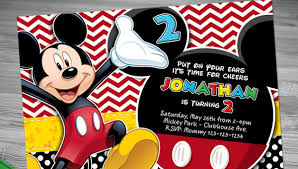 Free Mickey Mouse Template Download Mickey Mouse Invitation Templates 26 Free Psd Vector Eps