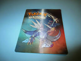 Details About Pokemon Diamond Pearl Version Hologram Type Compatibility Chart Nintendo Ds