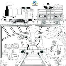 Thomas The Train Printables Train Coloring Page The Train Coloring