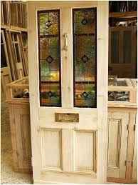 reclaimed glass doors front doors with glass a stained glass reclaimed front door stained glass