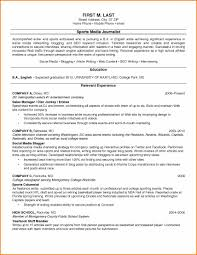 10 Examples Of College Resumes Resume Reference