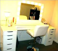 makeup desk vanity major this jaw dropping setup by features the ideas storage feature makeup room setup