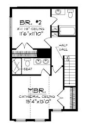 Small 2 Bedroom Houses Pretty Two Bedroom House On House Plan D67 884 Small 2 Bedroom