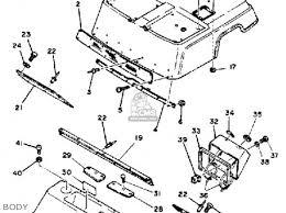 yamaha g1 am4 golf car 1984 parts lists and schematics yamaha g1 am4 golf car 1984 body