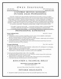 Customer Service Resume Examples Best Of Resume For Concierge
