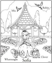 Small Picture Sofia The First Premiere Party Ideas Coloring Sheets