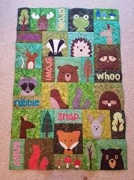 339 best Camping quilts images on Pinterest | Love, Machine ... & ***Super Show & Tell*** Look at Hannah's spectacular Woodland Critters · Camping  QuiltsChildren's ... Adamdwight.com