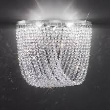 kolarz cascade crystal wall light