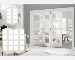 deanta white coventry 2 3 and 4 folding doors obscure glass