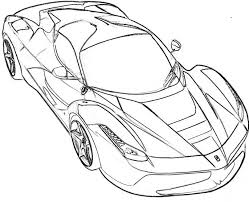 Innovation Ideas Coloring Pages Ferrari Spider Page Car Cars Logo