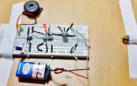 laser security alarm circuit diagram using ic and lm laser security alarm circuit using ic 555 and lm358