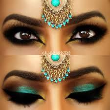 makeup ideas arabic makeup teal arabic makeup by u0641u0627u0637u0645u0629 u0647 preen me